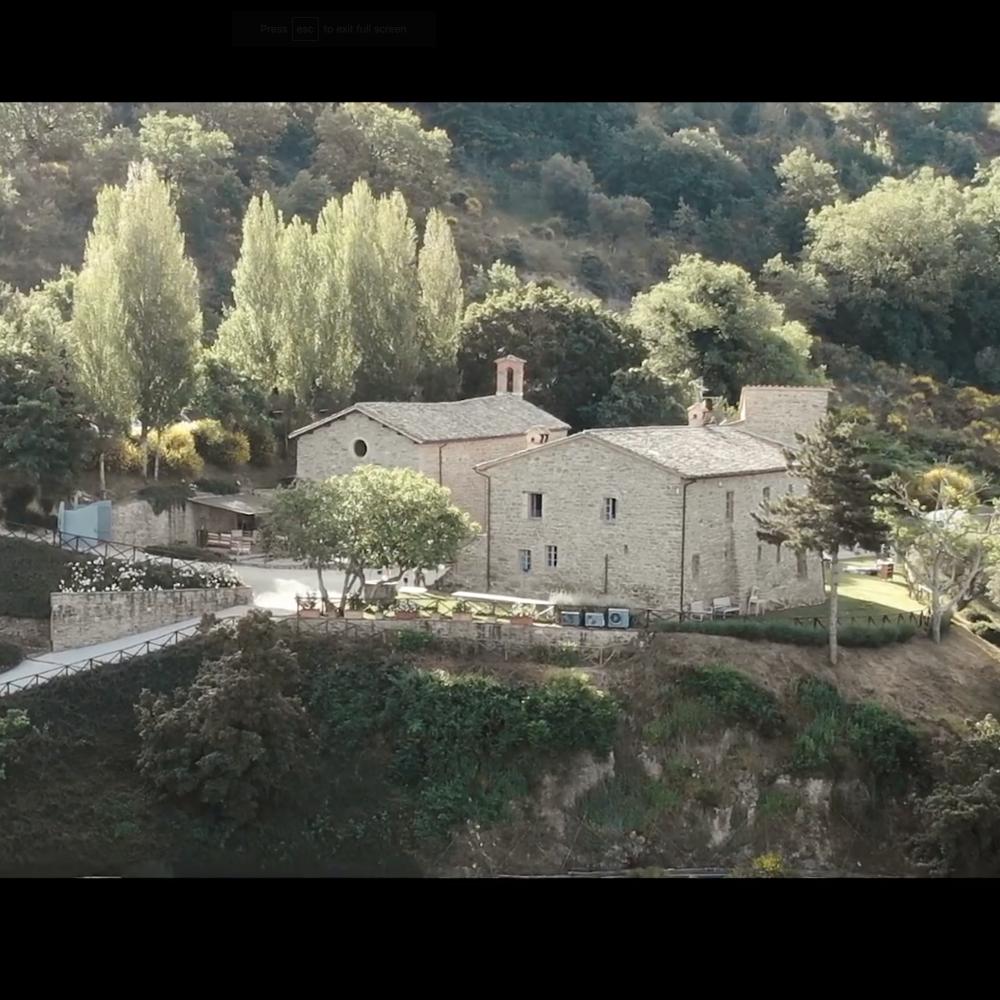 Drone shot Italië